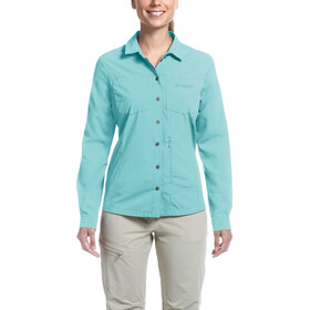 Maier Sports Peregrin - T-shirt manches longues Femme - turquoise